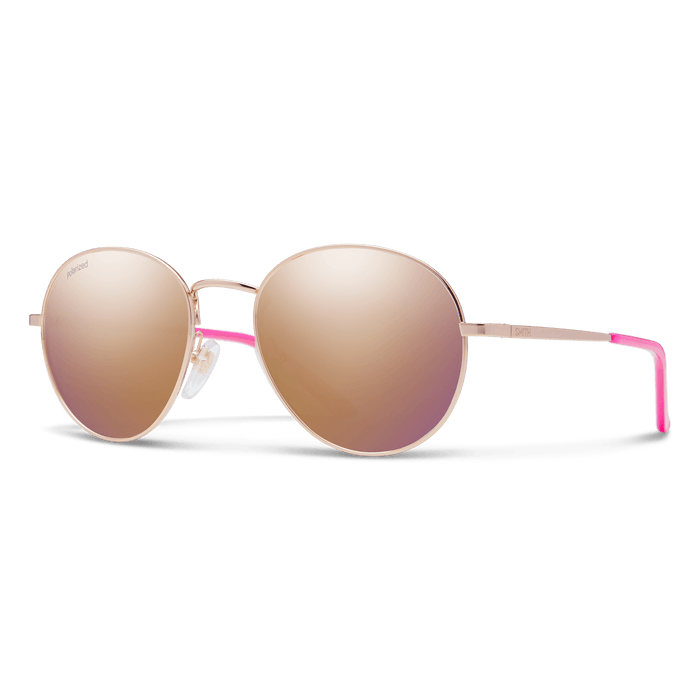 SMITH Prep Rose Gold - ChromaPop Rose Gold Polarized Sunglasses SUNGLASSES - Smith Sunglasses Smith