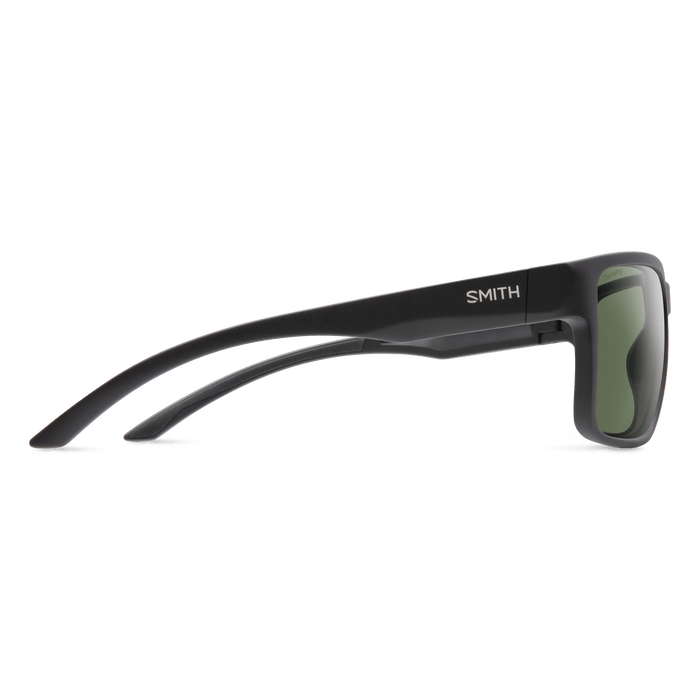SMITH Emerge Matte Black - ChromaPop Grey Green Polarized Sunglasses SUNGLASSES - Smith Sunglasses Smith