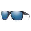 SMITH Emerge Matte Black - ChromaPop Blue Mirror Polarized Sunglasses SUNGLASSES - Smith Sunglasses Smith