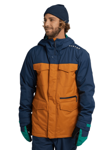 BURTON Covert Snowboard Jacket Dress Blue/True Penny 2021 MENS OUTERWEAR - Men's Snowboard Jackets Burton