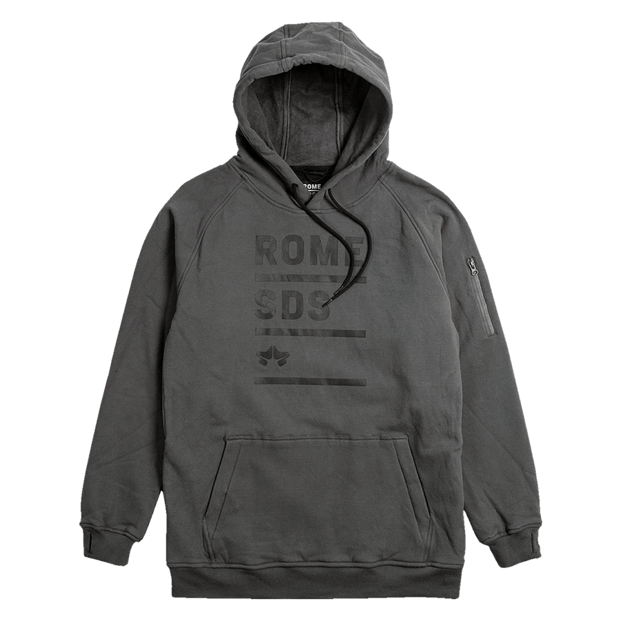 ROME Riding Hoodie Grey MENS APPAREL - Men's Pullover Hoodies Rome