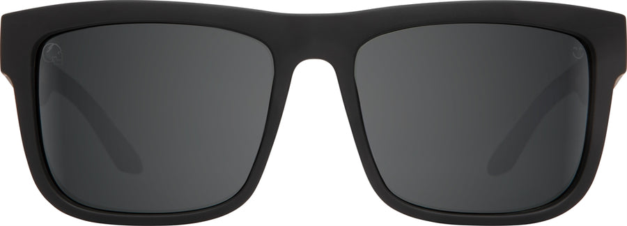 SPY Discord Slayco Matte Black Leopard Fade - Happy Gray Green w/ Silver Flash Sunglasses