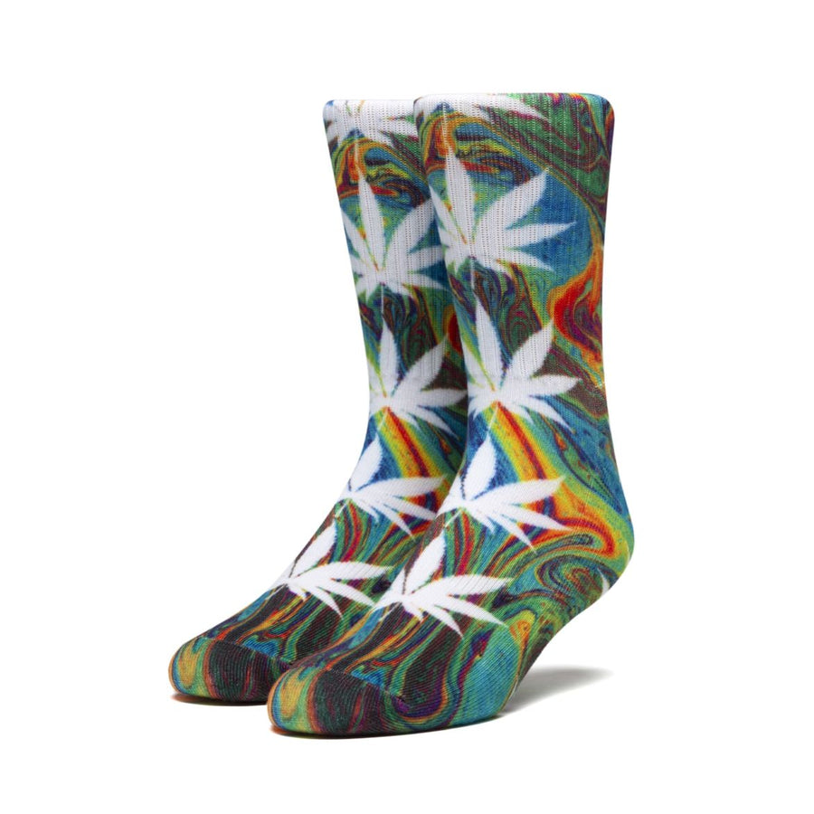 HUF Digital Plantlife Socks Green MENS ACCESSORIES - Men's Socks huf