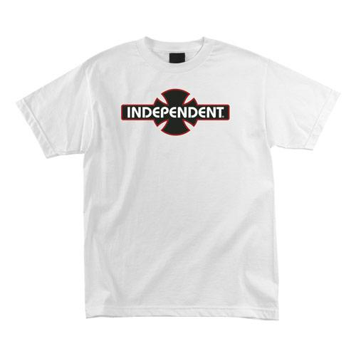 INDEPENDENT O.G.B.C. T-Shirt White MENS APPAREL - Men's Short Sleeve T-Shirts Independent