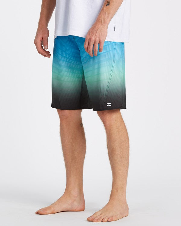 "BILLABONG Fluid Pro 20"" Boardshorts Blue/Green"
