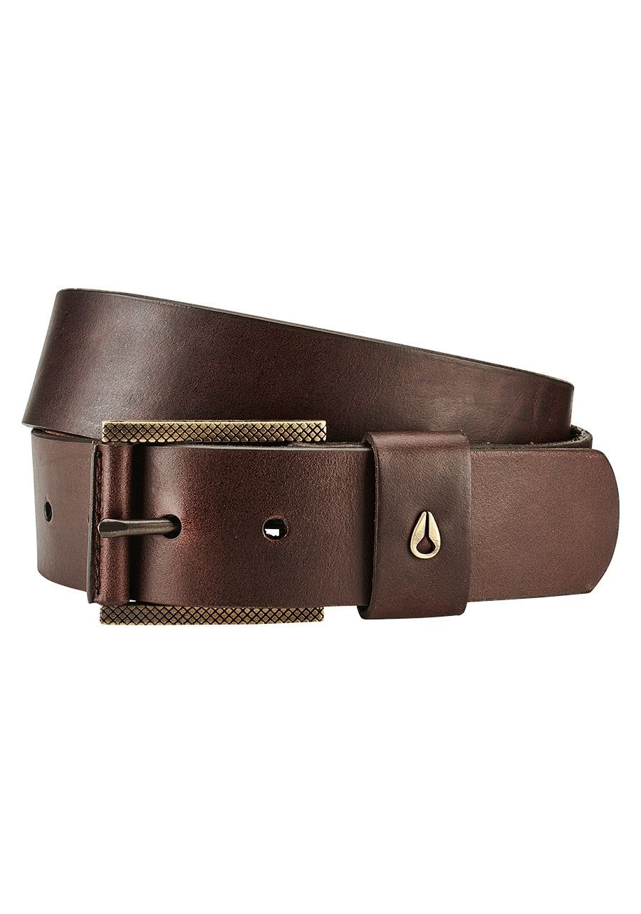 NIXON Americana Vegan Belt Brown MENS ACCESSORIES - Men's Belts Nixon