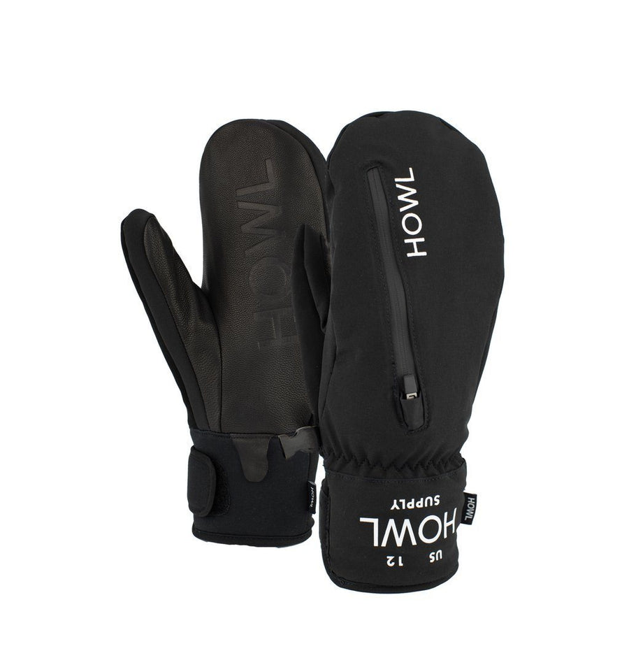 HOWL Pocket Snow Mitt Black