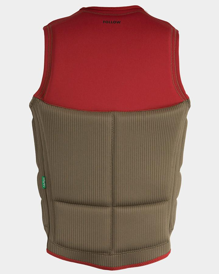 FOLLOW Mitch Pro Wakeboard Vest Red WAKEBOARD & SURF EQUIPMENT - Life Vests - Men's Wake Vests Follow