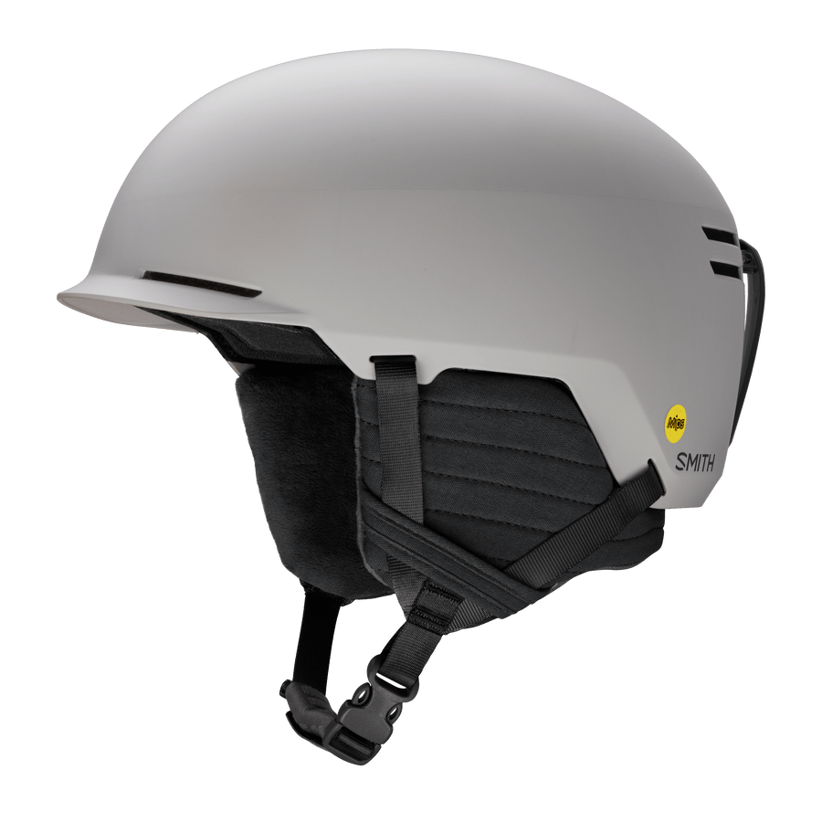 SMITH Scout Jr. MIPS Kids Snow Helmet Matte Cloud Grey 2021 SNOWBOARD ACCESSORIES - Men's Snowboard Helmets Smith