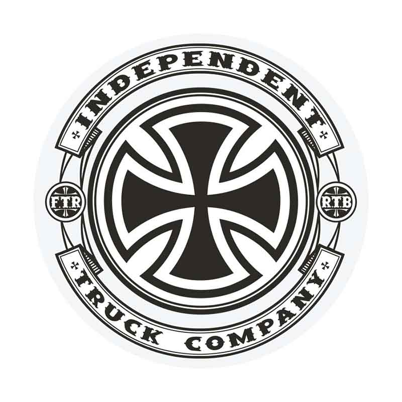 INDEPENDENT Steady 5in Sticker