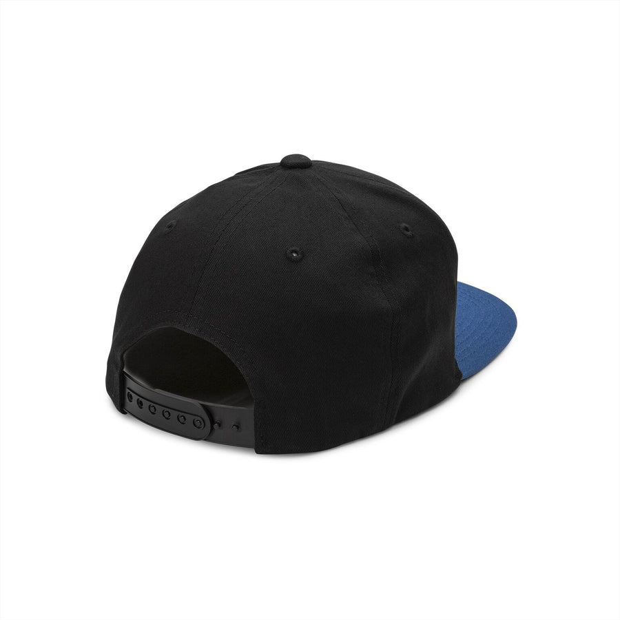 VOLCOM Euro 110 Snapback Hat Boys Deep Water KIDS APPAREL - Boy's Hats Volcom