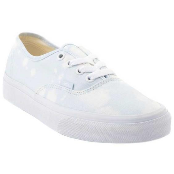 VANS Authentic (Bleach Wash) Shoes Women's Ballad Blue FOOTWEAR - Women's Skate Shoes Vans 7