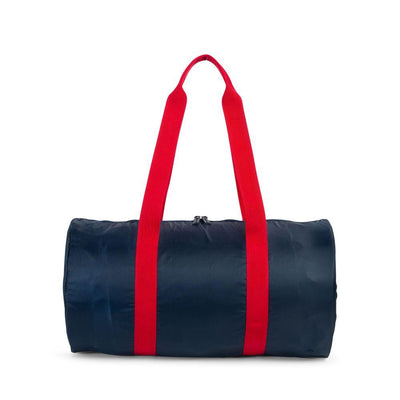 HERSCHEL Packable Poly Duffle Bag ACCESSORIES - Duffle Bags Herschel Supply Company NAVY/RED