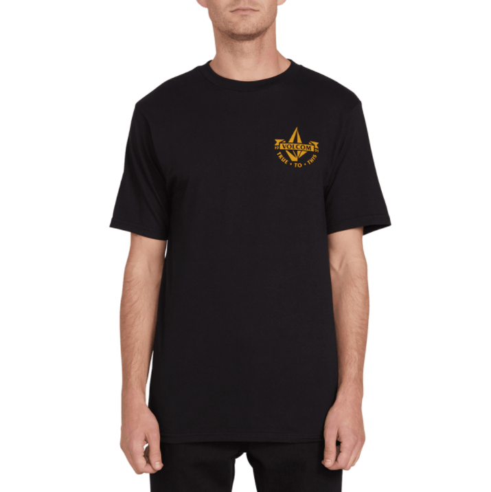 VOLCOM Rictor T-Shirt Black MENS APPAREL - Men's Short Sleeve T-Shirts Volcom