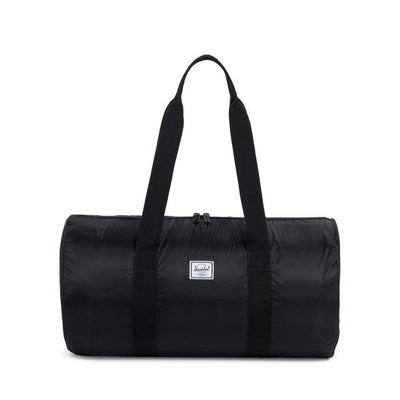 HERSCHEL Packable Poly Duffle Bag ACCESSORIES - Duffle Bags Herschel Supply Company BLACK