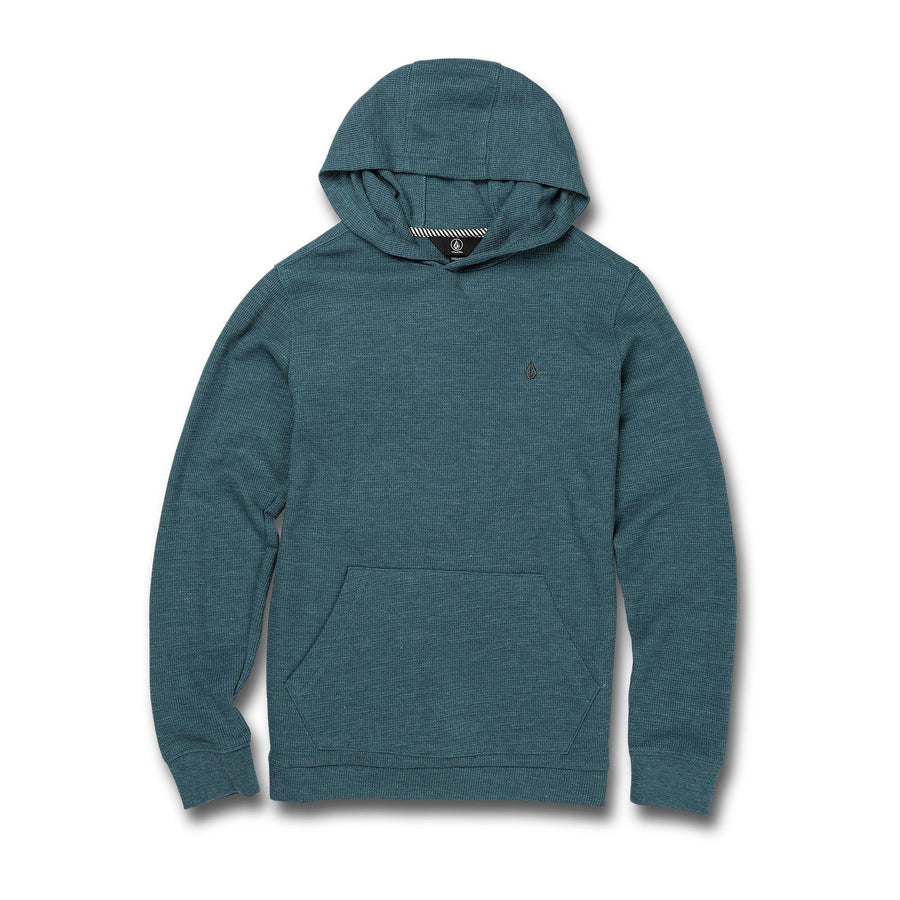 VOLCOM Wallace Pullover Thermal Boys Rincon Blue KIDS APPAREL - Boy's Pullover Hoodies Volcom