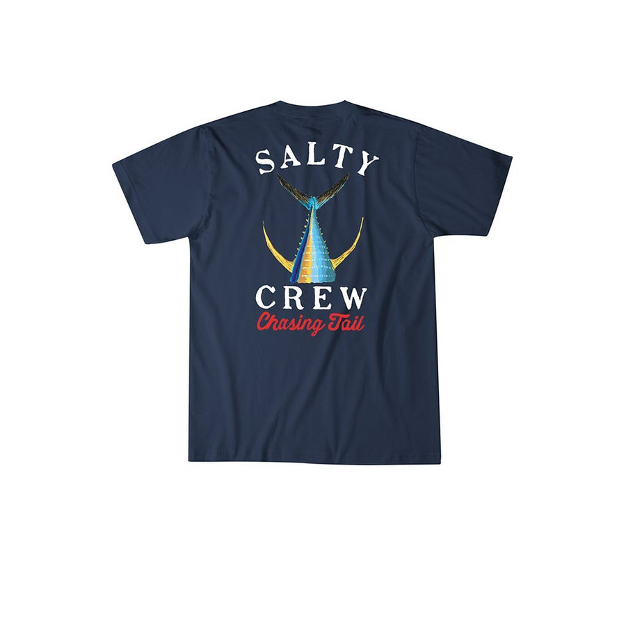 SALTY CREW Tailed T-Shirt Navy MENS APPAREL - Men's Short Sleeve T-Shirts Salty Crew