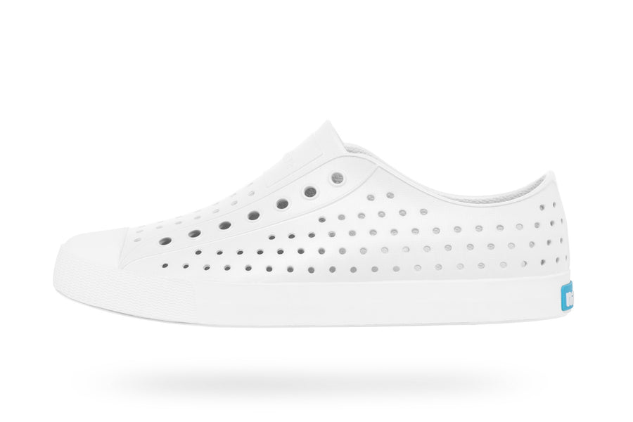 NATIVE Jefferson Adult Shell White/Shell White Shoes