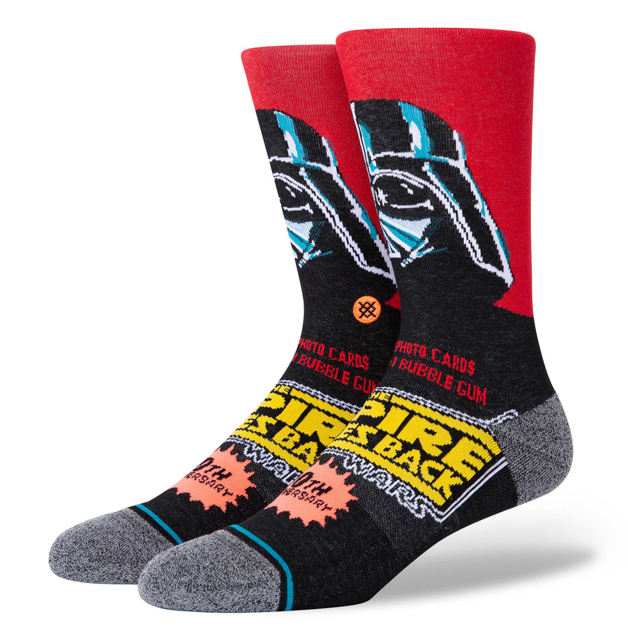 STANCE Vader 40th Socks Red