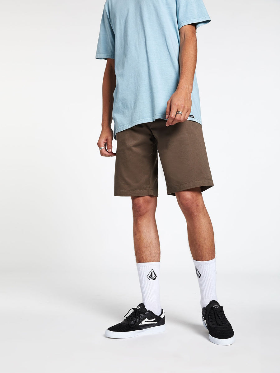 VOLCOM Frickin Chino Shorts Mushroom MENS APPAREL - Men's Walkshorts Volcom
