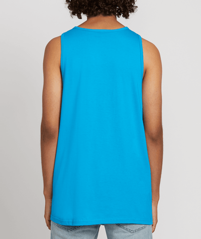 VOLCOM Cement Tank Top Bright Blue