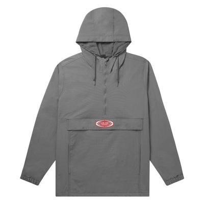 HUF Harlem Anorak Jacket Harbor Grey MENS APPAREL - Men's Street Jackets huf