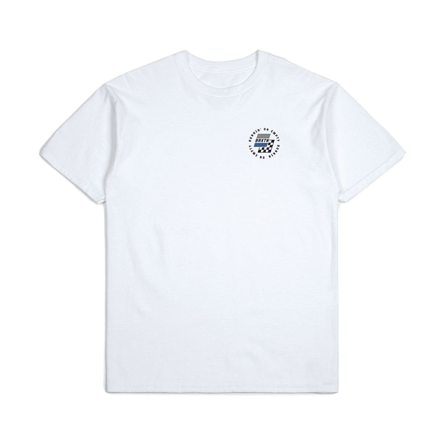 BRIXTON Gas III S/S Standard T-Shirt White