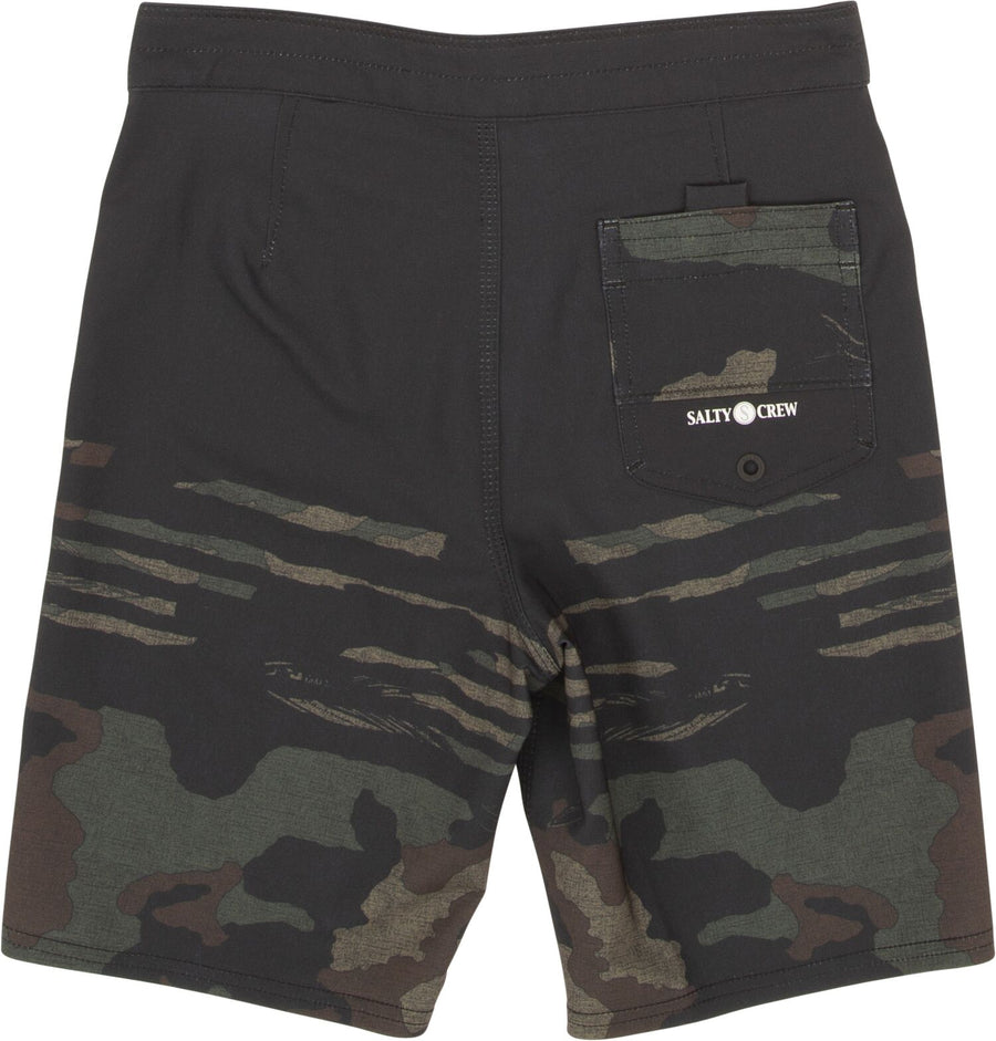 SALTY CREW Ripple Boardshorts Boys Camo KIDS APPAREL - Boy's Boardshorts Salty Crew