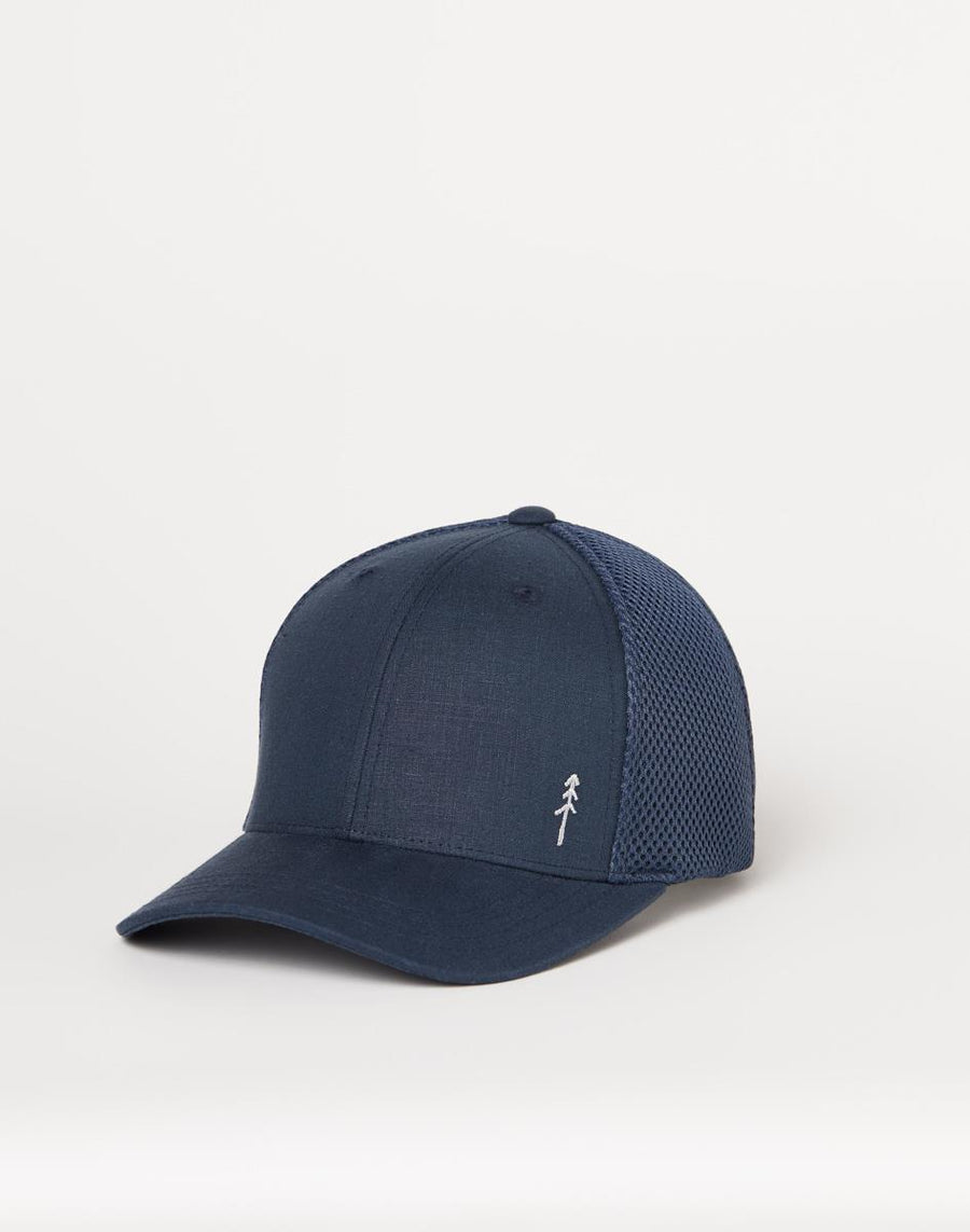 TENTREE Thicket Hat Dark Ocean Blue Heather