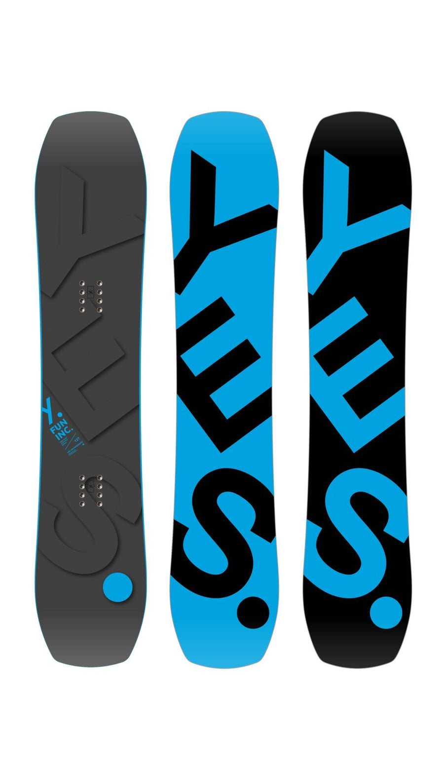 YES FunInc Youth Snowboard 2021 Snowboards - Youth Snowboards Yes Snowboards