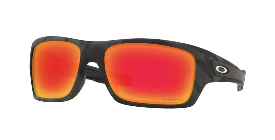 OAKLEY Turbine Black Camo - Prizm Ruby Sunglasses SUNGLASSES - Oakley Sunglasses Oakley