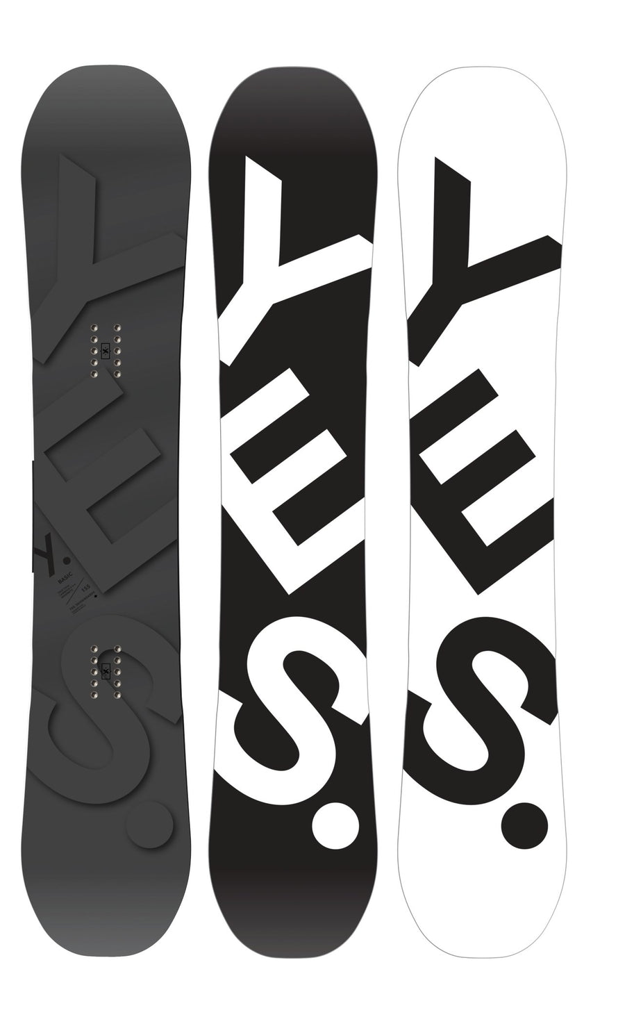 YES Basic Snowboard 2021 Snowboards - Men's Snowboards Yes Snowboards