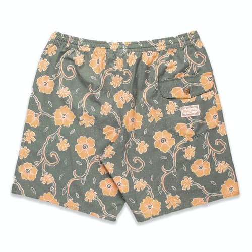 RHYTHM Desert Flower Beach Short Agave MENS APPAREL - Men's Walkshorts Rhythm