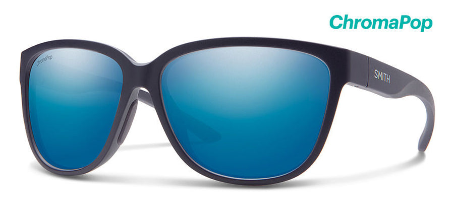 SMITH Monterey Matte Midnight - ChromaPop Blue Mirror Polarized Sunglasses