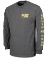 SALTY CREW Alpha L/S T-Shirt Charcoal Heather MENS APPAREL - Men's Long Sleeve T-Shirts Salty Crew