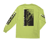 LOSER MACHINE Last Ride Stock L/S T-Shirt Safety Green