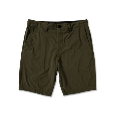 "VOLCOM Bohnes 20"" Hybrid Shorts Military MENS APPAREL - Men's Hybrid Shorts Volcom 30"