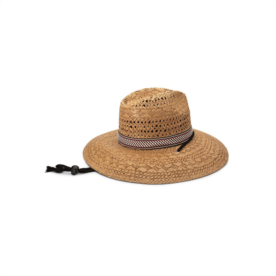 VOLCOM Stone Tramp Straw Hat Natural
