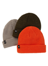 BURTON DND Beanie 3-Pack Kids Forest Night/Orangeade/Iron Grey