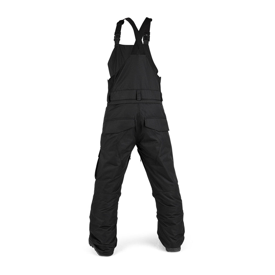 VOLCOM Barkley Bib Overall Snowboard Pants Youth Black 2021 YOUTH INFANT OUTERWEAR - Youth Snowboard Pants Volcom