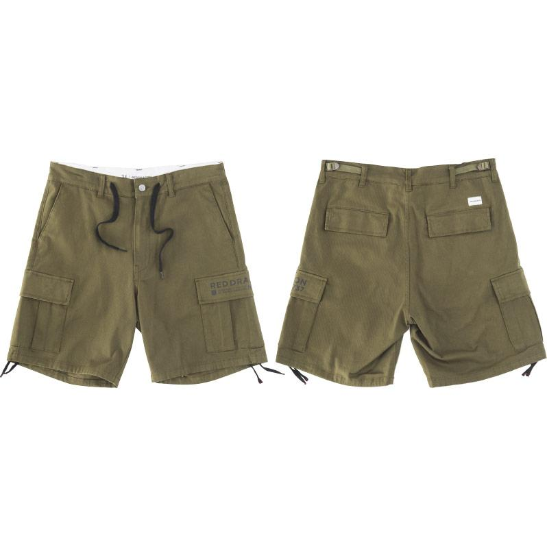 RDS Duke Cargo Shorts Army Green