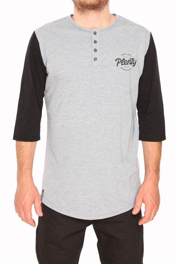 PLENTY Baseball Henley T-Shirt