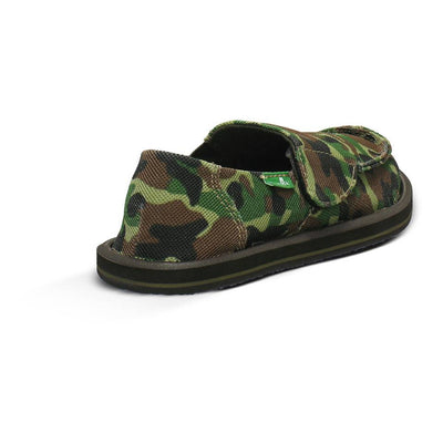 SANUK Army Brat Slip On Toddler FOOTWEAR - Youth Sandals Sanuk