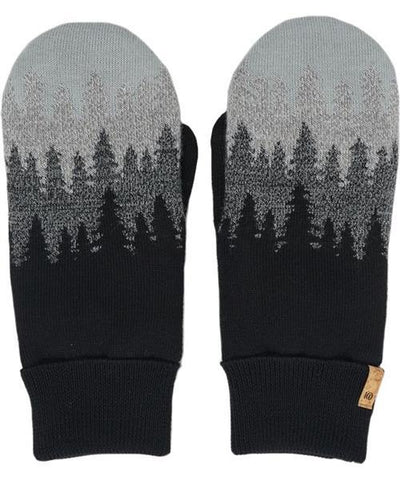 TENTREE Juniper Mittens Women's Meteorite Black Juniper WINTER GLOVES - Women's Snowboard Gloves and Mitts Tentree