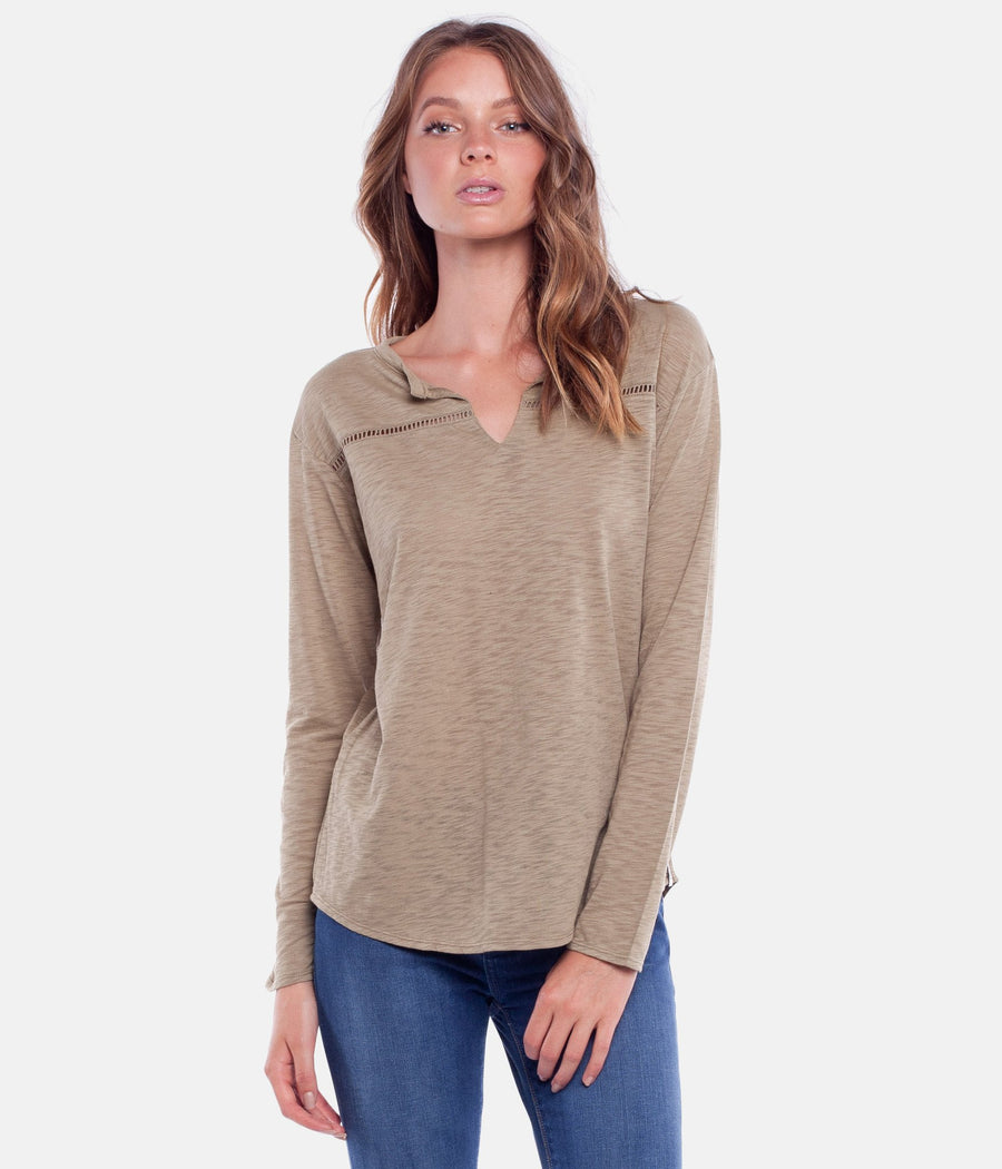 RHYTHM My Long Sleeve Top Womens