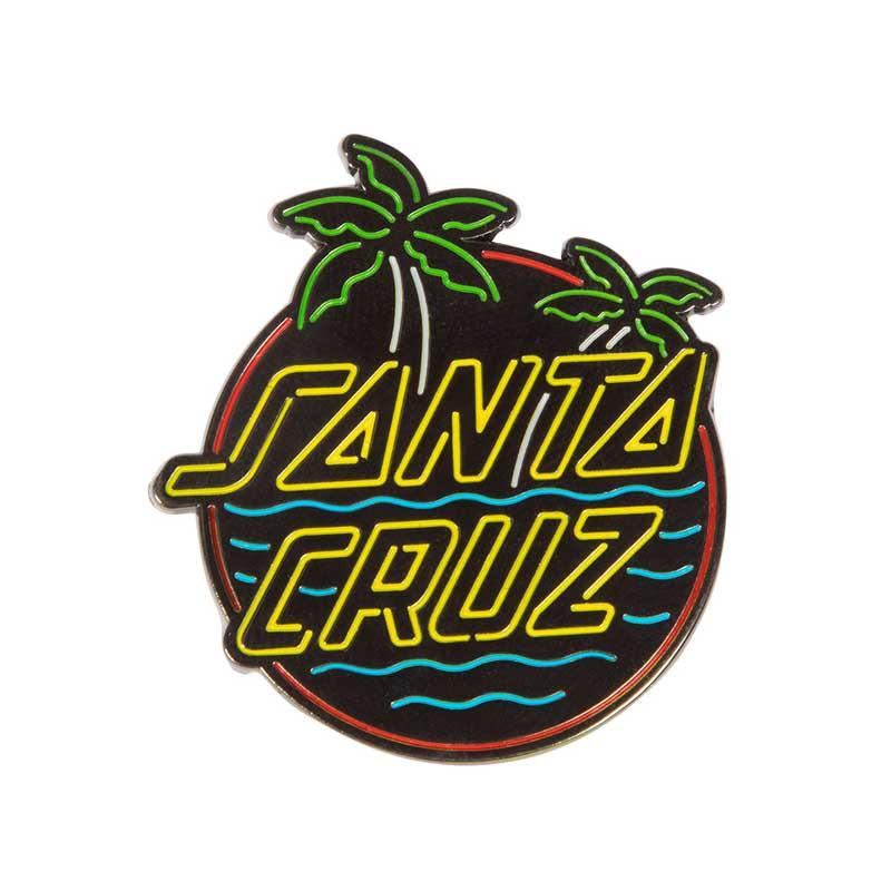 SANTA CRUZ Glow Dot Pin ACCESSORIES - Lifestyle Items Santa Cruz
