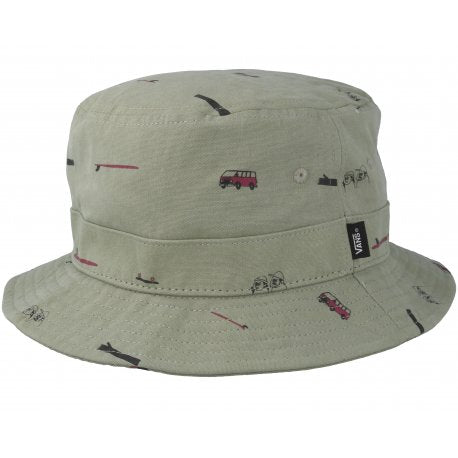 VANS Undertone Bucket Hat Oil Green MENS ACCESSORIES - Men's Bucket Hats Vans