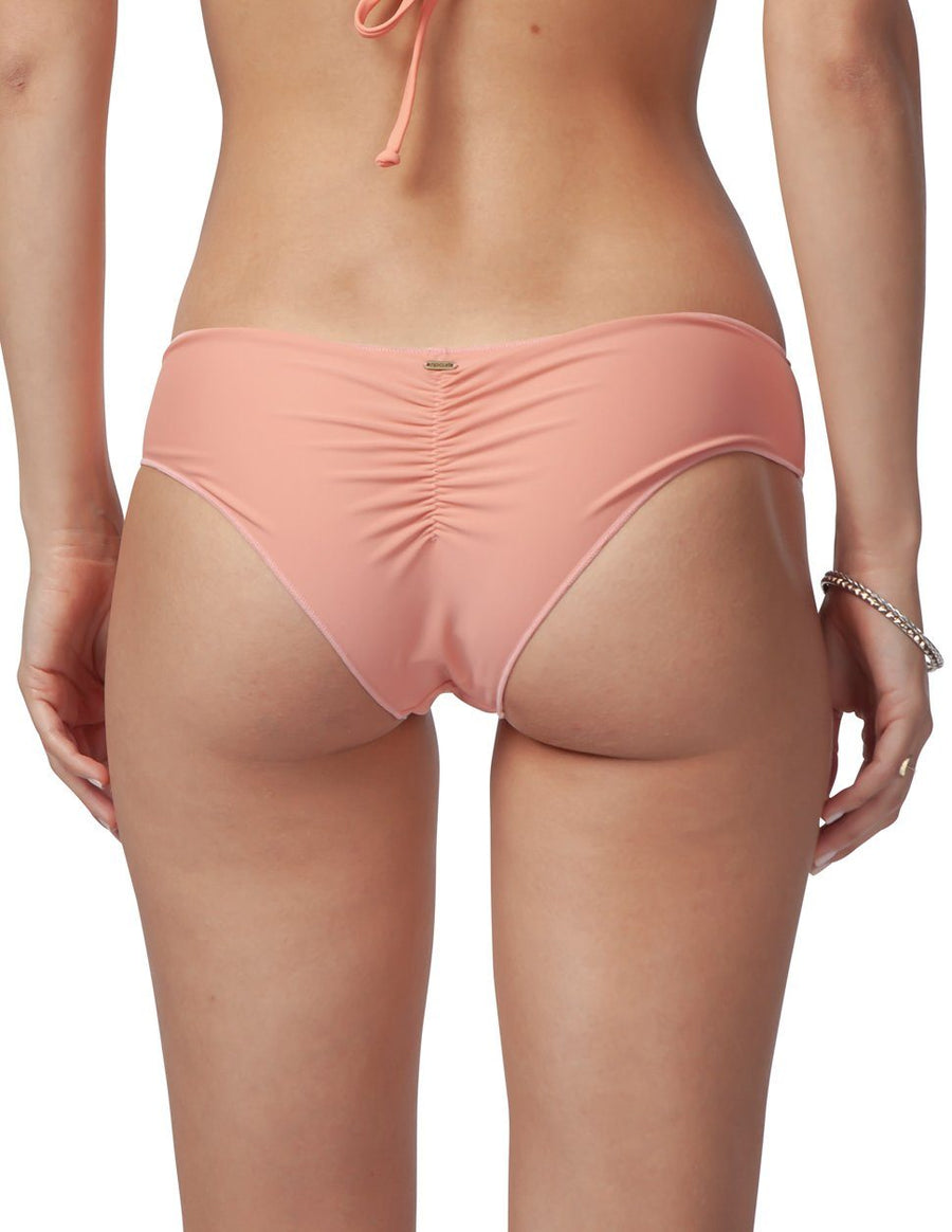 RIP CURL Classic Surf Hipster Bikini Bottom Women's ROSE GOLD WOMENS APPAREL - Women's Swimwear Bottoms Rip Curl