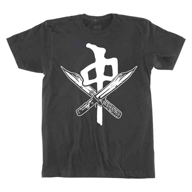 RDS Wolfknives Blades T-Shirt Black