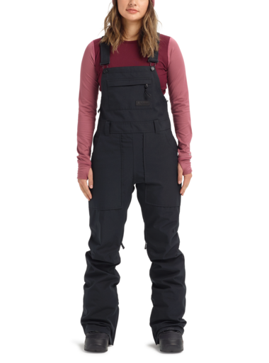 BURTON Avalon Bib Overall Snowboard Pants Women's True Black 2021